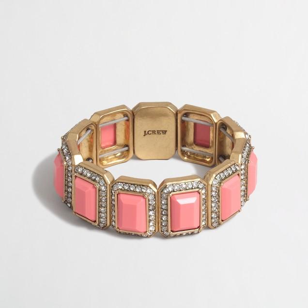 Crystal frames bracelet