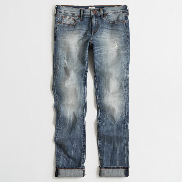 Heath wash slim boyfriend jean