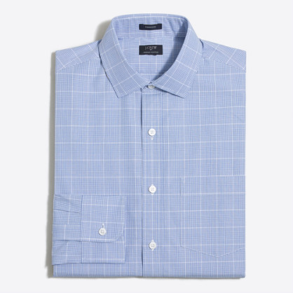 Thompson dress shirt in multi-plaid