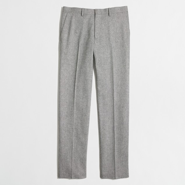 Slim Thompson suit pant in Donegal wool