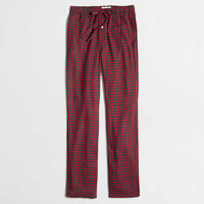 Red flannel sleep pant