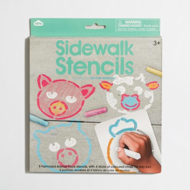 Boys' npw™ sidewalk chalk face