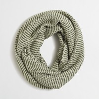 Feeder striped infinity scarf