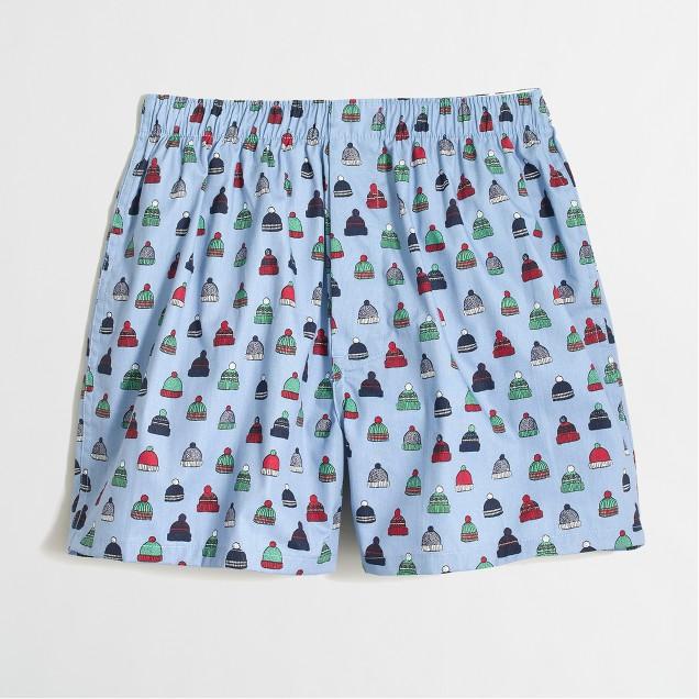 Knit caps boxers