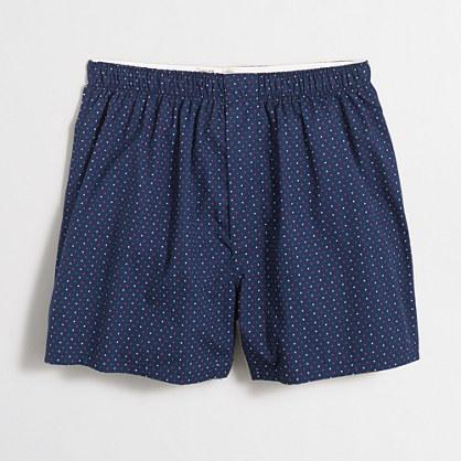 Tri-color mini-dot boxers