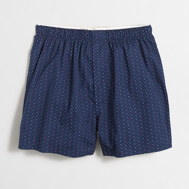 Tri-color mini-dot boxers