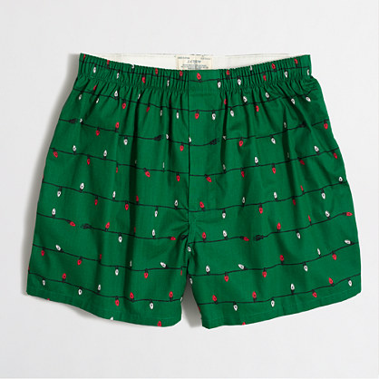 Tree lights boxers