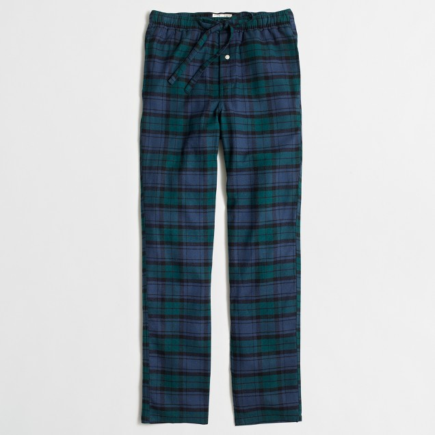 Black Watch flannel sleep pant