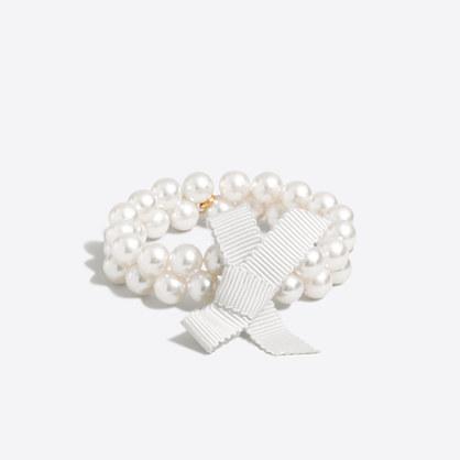 Girls' pearl bracelet