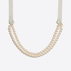 Girls' pearl necklace