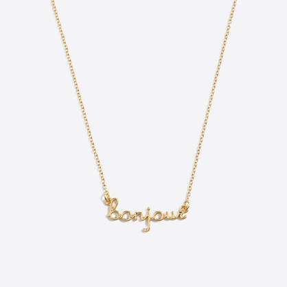 Girls' love necklace