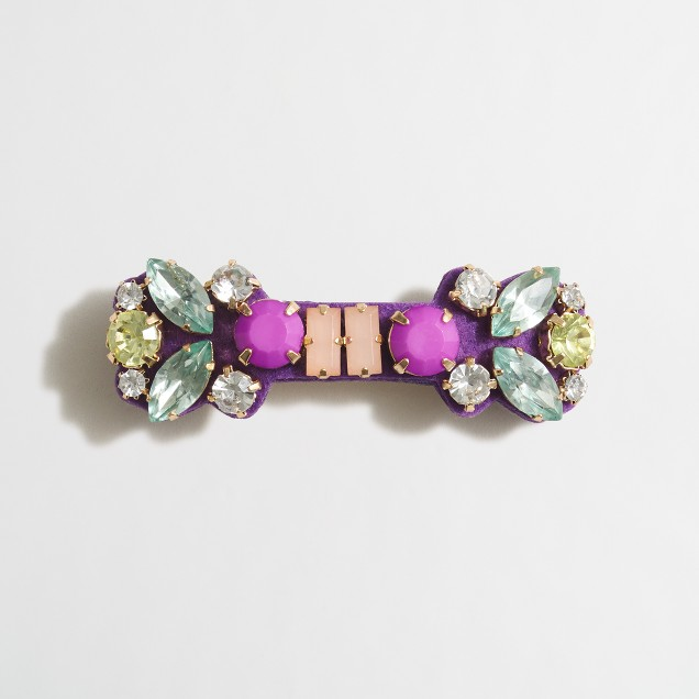 Girls' jeweled barrette