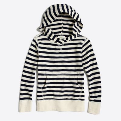 Boys' striped popover hoodie factoryboys knits & t-shirts c