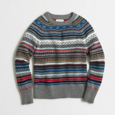 Boys' Fair Isle sweater : | Factory