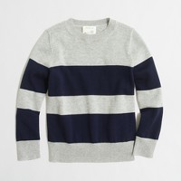Boys' rugby-striped sweater