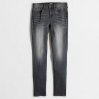 "Grey wash skinny jean with 28"" inseam"