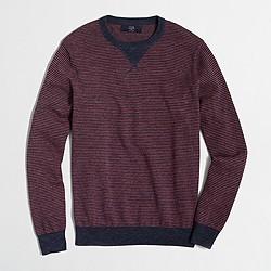 Factory striped sweatshirt sweater