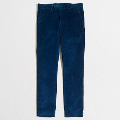 Slim flex cord Bedford dress pant