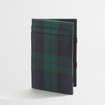 Fabric magic wallet