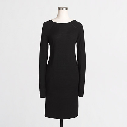 Boatneck sweater-dress