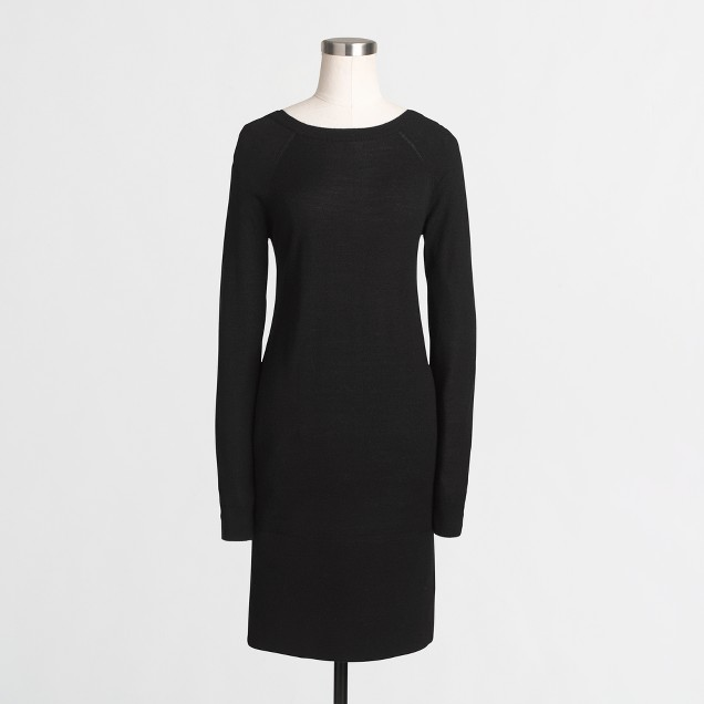 Boatneck sweater-dress