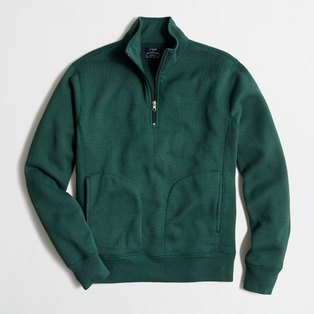 Mountain fleece half-zip sweatshirt