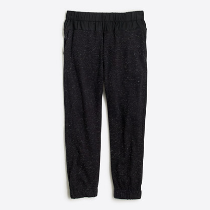 Girls' sparkle sweatpant