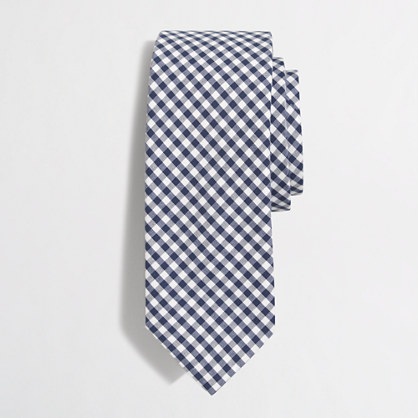 Tall washed tie
