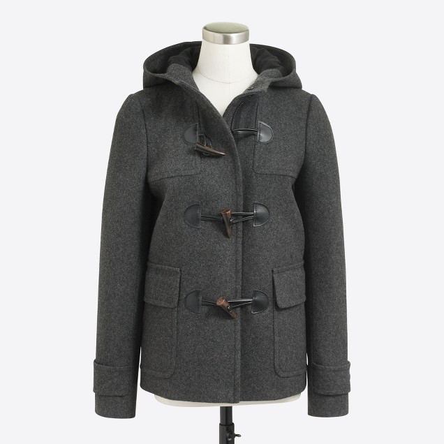 Petite toggle coat