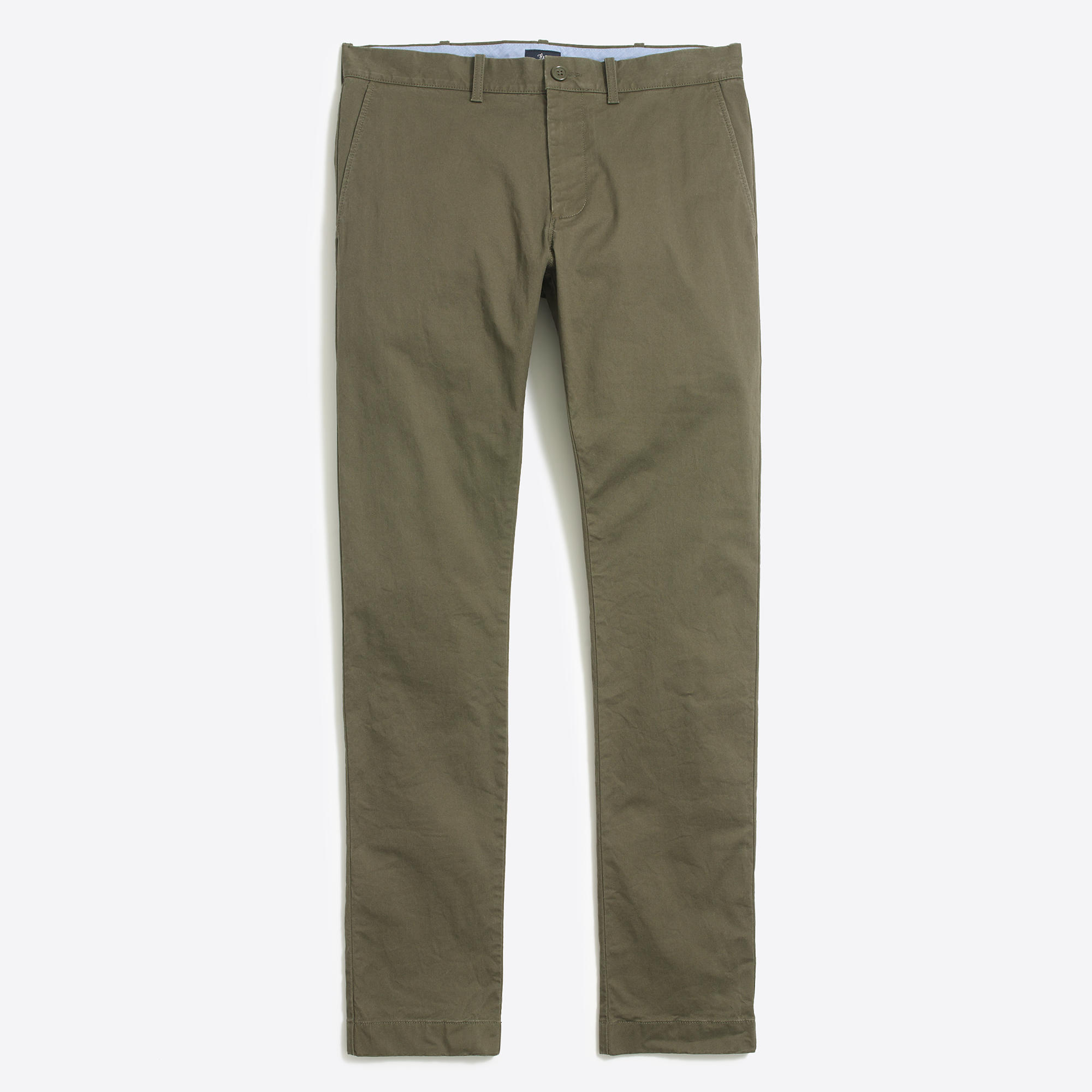 Slim-fit chino featuring slash pockets at front and welt pockets at back. Plaid&Plain Men's Slim Fit Stretch Casual Khaki Pants Cropped Chinos Flood Pants. by Plaid&Plain. $ $ 19 99 Prime. FREE Shipping on eligible orders. Some sizes/colors are Prime eligible. 4 out of 5 stars See Details.
