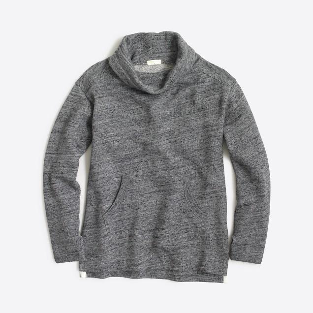 Girls' cowlneck sweatshirt