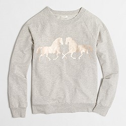 Factory horse love sweatshirt