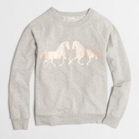 Horse love sweatshirt