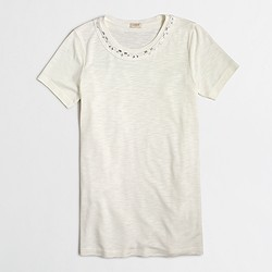 Factory gem necklace collector T-shirt