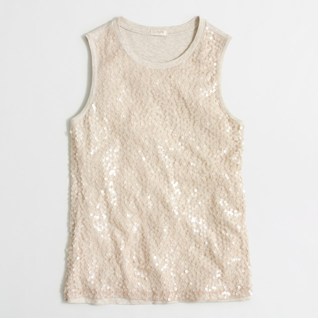 Sequin shell