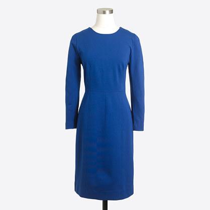 Zip ponte dress