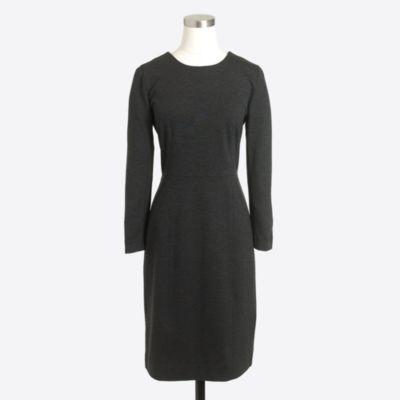 Zip ponte dress factorywomen dress-up shop c