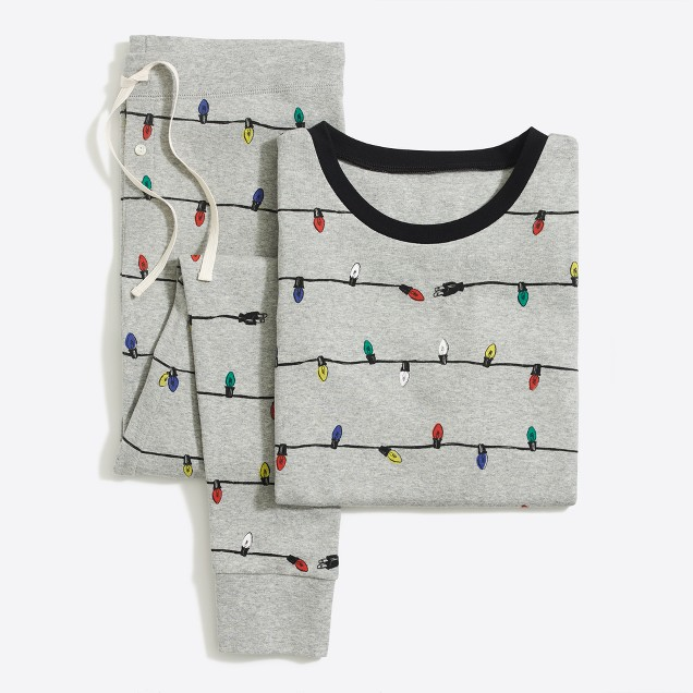 Cute Christmas lights pajamas