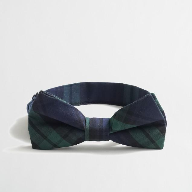 Boys' Black Watch bow tie