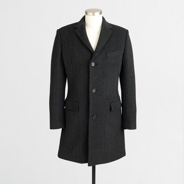 Thompson topcoat with Thinsulate® in herringbone