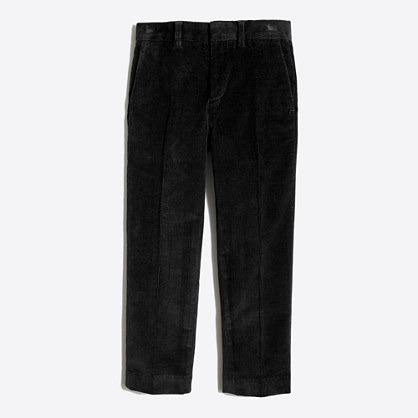 Boys' stretch corduroy Thompson suit pant