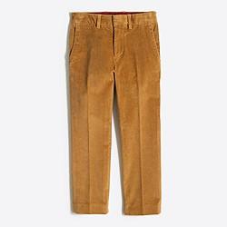 Boys' stretch corduroy Thompson suit pant
