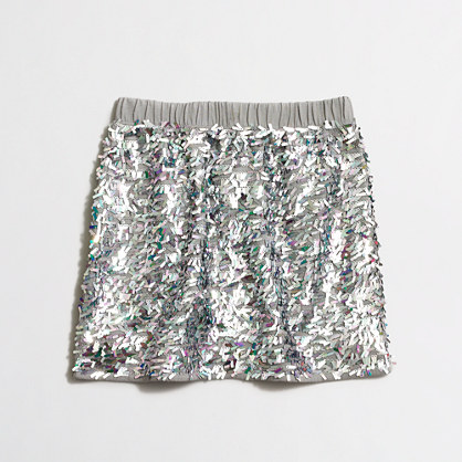 Girls' sequin skirt : Skirts | J.Crew Factory