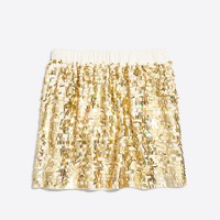 Girls' sequin skirt