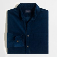 Slim corduroy shirt