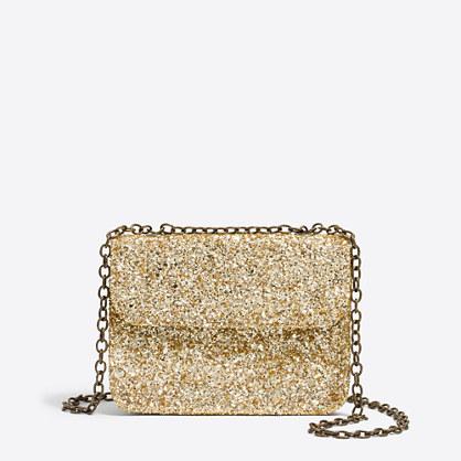 Girls' glitter purse