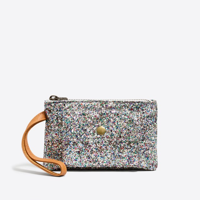 Girls' glitter wristlet