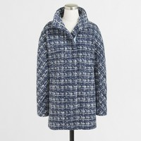 Tweed city coat