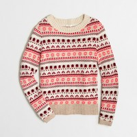 Fair Isle striped sweater