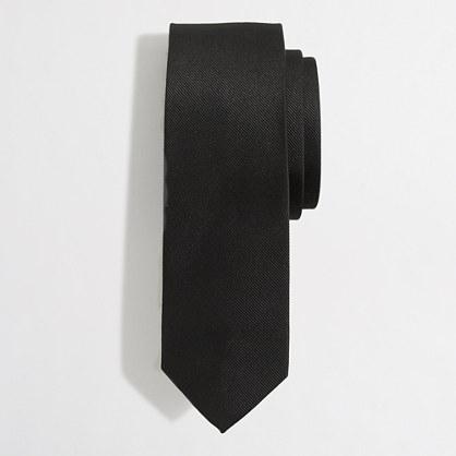 Tall silk tie